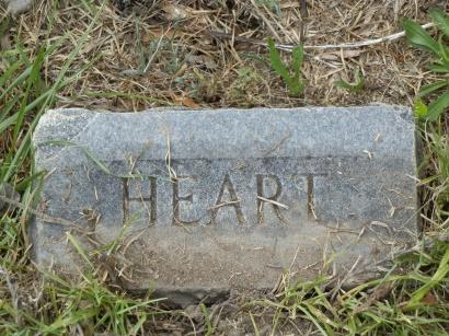 Heart's footstone.