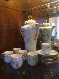 Some of Martha's painted porcelain