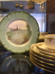 More of Martha's painted porcelain