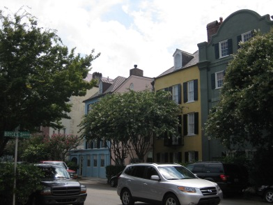 Rainbow Row in Charleston