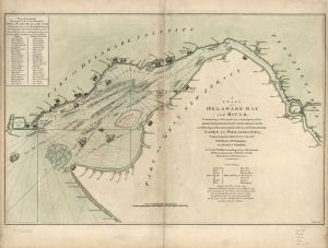 Oswell Eve Deleware River Map