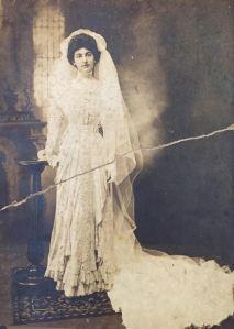 Eleanor Eigenmann DuPre wedding dress