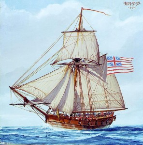 A Revolutionary War Sloop