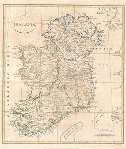 ireland map 1799
