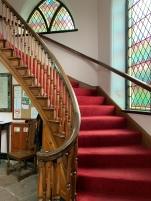 Stairs in the vestibule